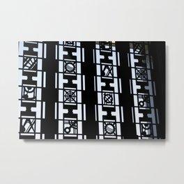 Pattern Door Metal Print