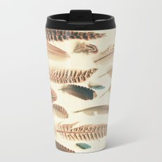 Found Feathers Travel Mug