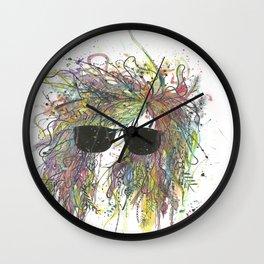 Rough Night Wall Clock