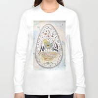 egg Long Sleeve T-shirts featuring Egg by Infra_milk
