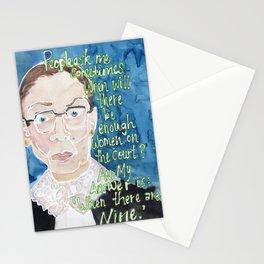 Ruth Bader Ginsberg Stationery Cards