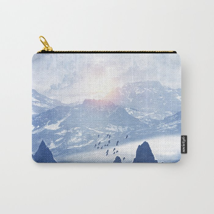 Winter. Melody... Carry-All Pouch