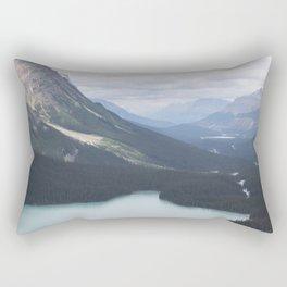 Glacial Lake Jasper Rectangular Pillow
