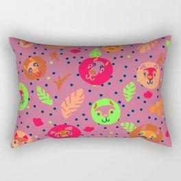 Lavender Baby Rectangular Pillow