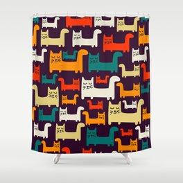 Herding Cats Shower Curtain