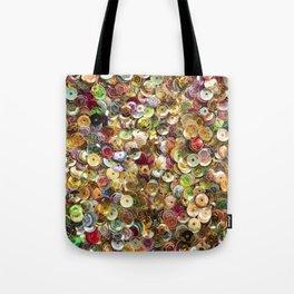 Rainbow Sequins Tote Bag