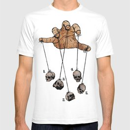 The Five Dancing Skulls Of Doom T-shirt