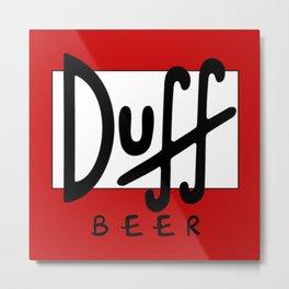 duff Metal Print