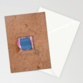 window in the mud Stationery Cards