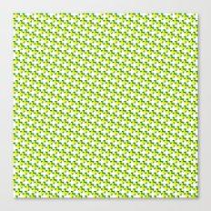 So cross… yellow. Canvas Print