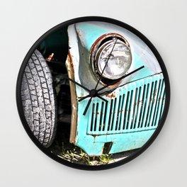 Old rusty bucket  Wall Clock