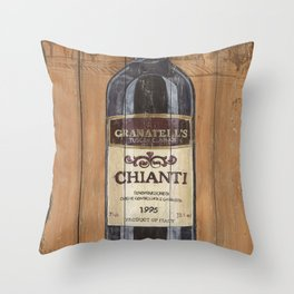 Tuscan Chianti 2 Throw Pillow