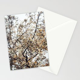 Fading autumn Stationery Cards