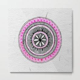 Mandala Creation #5 Metal Print