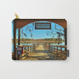 Riverfront Fishing Pier Carry-All Pouch