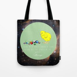 The Chick and the Jewel Tote Bag