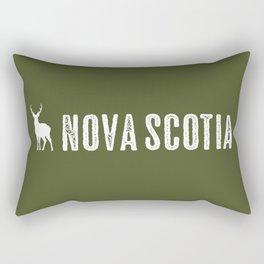 Deer: Nova Scotia, Canada Rectangular Pillow