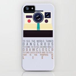 purpose of life iPhone Case