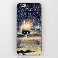 ski iPhone & iPod Skins featuring Ski Lift by EvanBurnham
