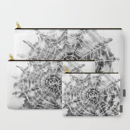 Watercolor Spider Web Halloween Art Carry-All Pouch