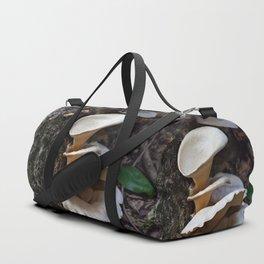 Fungi on a tree Duffle Bag