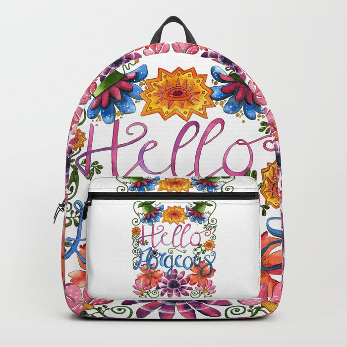 Hello Gorgeous Backpack