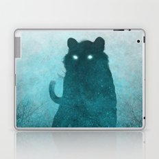 Space Tiger Silhouette Laptop & iPad Skin