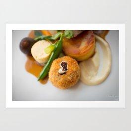 The Art of Food Bone In Art Print