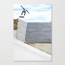 Nollie backside Flip In Canvas Print