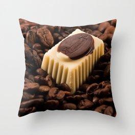 Coffeetime Throw Pillow