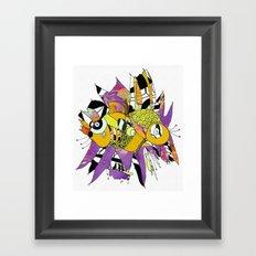 Olie Framed Art Print
