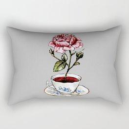 Rose Tea Rectangular Pillow