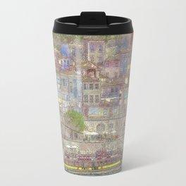 Old houses, Porto, Portugal Travel Mug