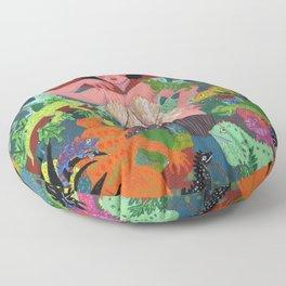 The Lizard Queen Floor Pillow