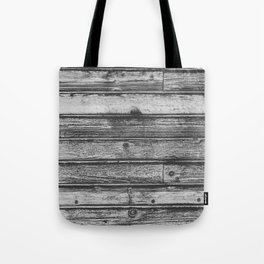 Weathered Wood Wall Tote Bag