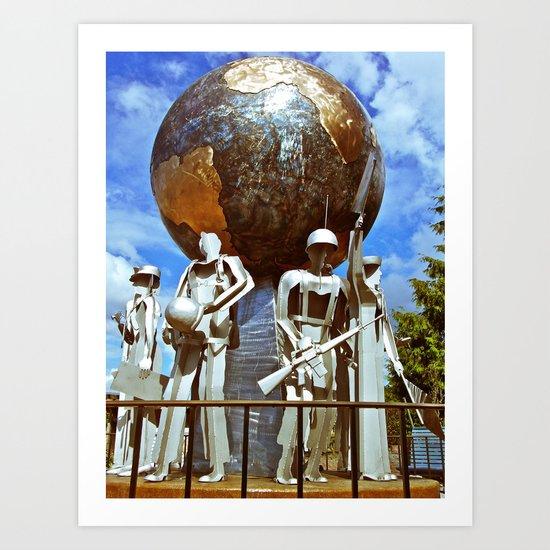 lakewood Veterans Memorial Art Print