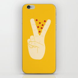 Peace-za iPhone Skin