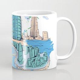 Dubai was lit Coffee Mug