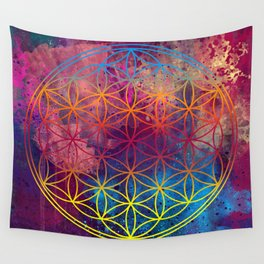 Flower of Life Wall Tapestry