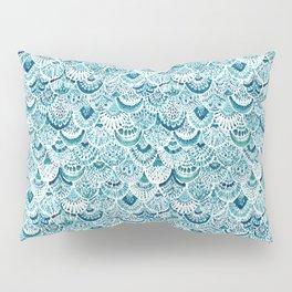 MERM ARMOR Indigo Mermaid Scales Pillow Sham