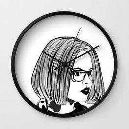 Enid Ghost World Punk Rock Wall Clock