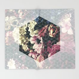 Spring Geometry Throw Blanket
