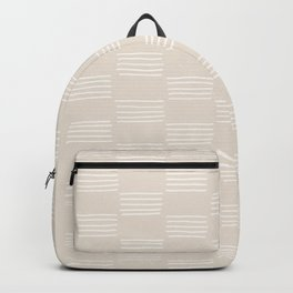 hatches –small white Backpack