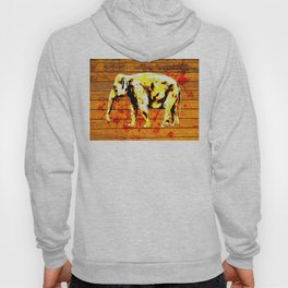 Elephant in Gold Hoody