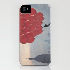 Floating over the City iPhone (4, 4s) Slim Case