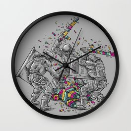 Police Brutality Wall Clock