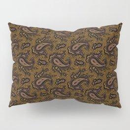 Ramona Paisley - Dark Bronze Pillow Sham