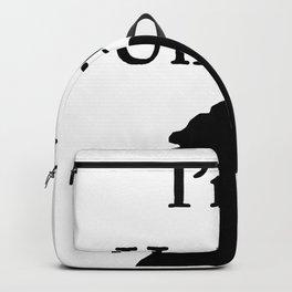 I'm a Unicorn Photo 2 Black Pink Horn (OLD) Backpack