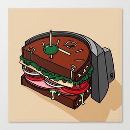 Sandwich Dial Canvas Print