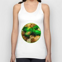 minerals Tank Tops featuring EMERALDS by Catspaws